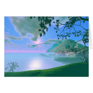 Mist Rise Greeting Cards