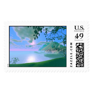 Mist Rise Postage Stamps