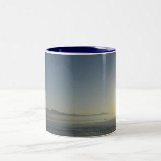 Mist Two-Tone Coffee Mug