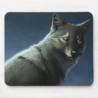 """Mist Wolf"" Mouse Pad"