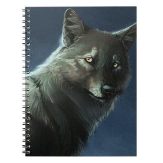 """""""Mist Wolf"""" Notebook"""