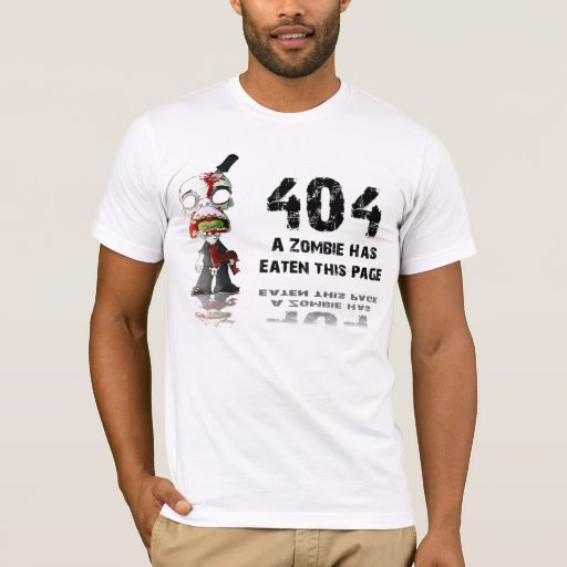 Mistake 404, page isn't found T-Shirt