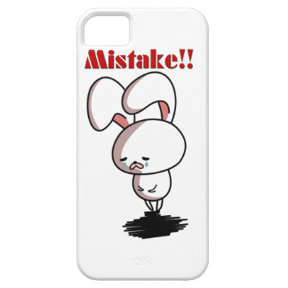 Mistake!! iPhone 5 Covers