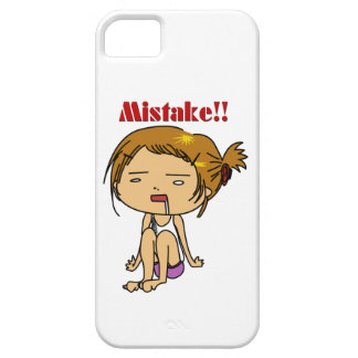 Mistake!! iPhone 5 Case