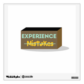 Mistakes equals Experience Wall Skins