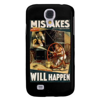 Mistakes Will Happen Galaxy S4 Covers