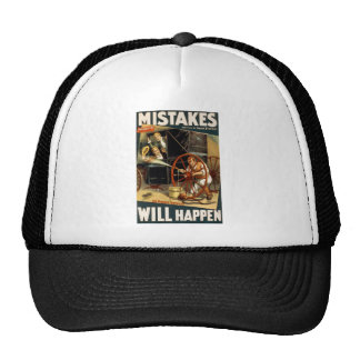 Mistakes Will Happen Hat