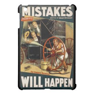 Mistakes Will Happen iPad Mini Case