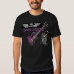 MistaSCARY Purple Guitar Wing Skull Dragon T-shirt