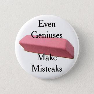 Misteaks Pinback Button
