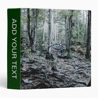 Misted Birch Forest Binder