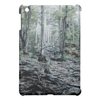 Misted Birch Forest iPad Mini Covers