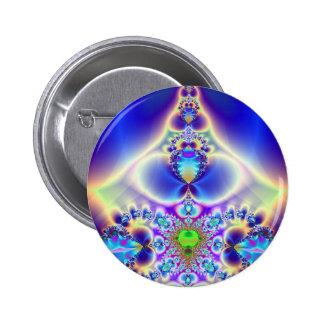 Misted Spectrum Pinback Button