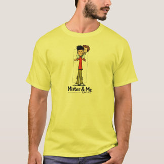 Mister and Me character Tee