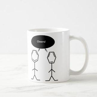 mister benzene cheers mug