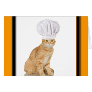 Mister Cat Chef To You Greeting Card