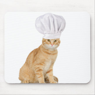 Mister Cat Chef To You Mouse Pad