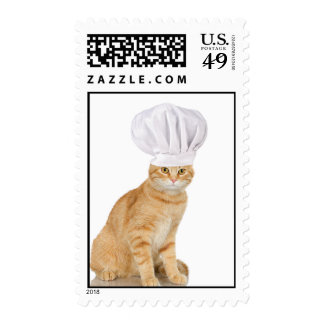 Mister Cat Chef To You Postage