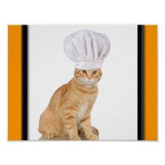 Mister Cat Chef To You Poster