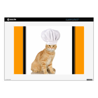 "Mister Cat Chef To You 15"" Laptop Skin"