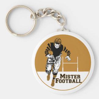 Mister Football Keychain