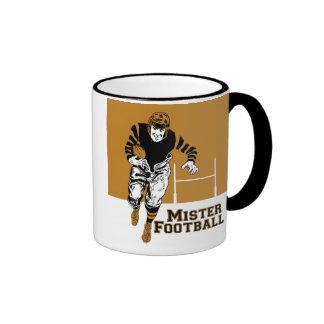 Mister Football Ringer Coffee Mug