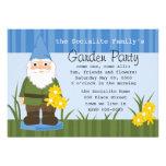 Mister Garden Gnome Custom Invites
