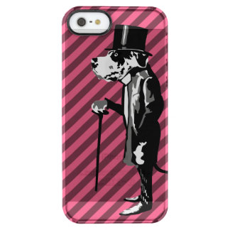 Mister Great Dane Clear iPhone SE/5/5s Case