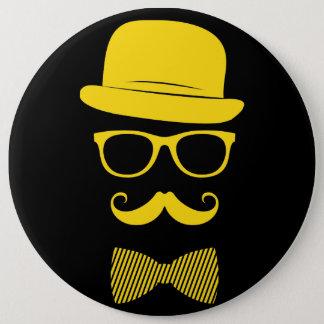 Mister hipster button