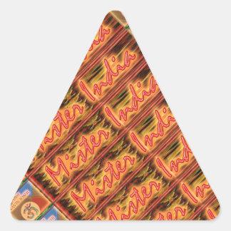 MISTER INDIA - Festivals n Celebrations Triangle Sticker