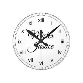 Mister Justice Clocks