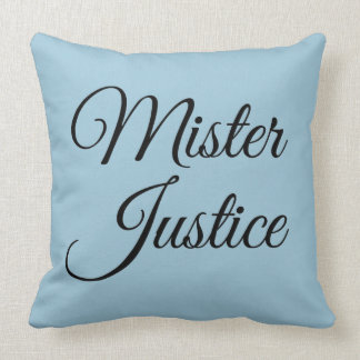 Mister Justice Pillow