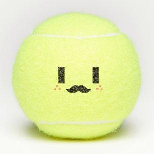 Emoji Tennis Balls Tennis Gear Zazzle