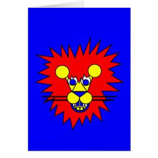 Mister Lion Card
