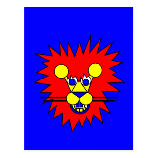 Mister Lion Postcard