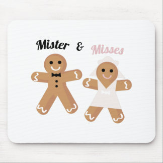 Mister & Misses Mouse Pad