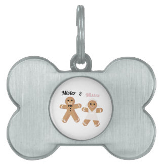 Mister & Misses Pet Name Tag