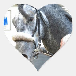 Mister Monolo Heart Sticker