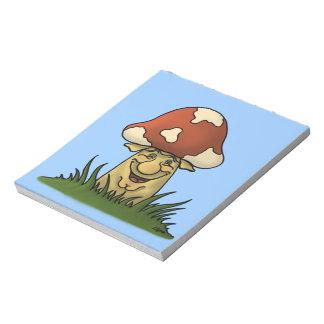 mister mushroom notepad