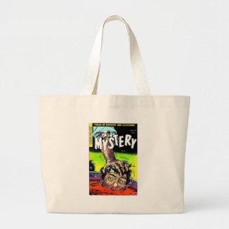 Mister Mystery Comics Jumbo Tote Bag