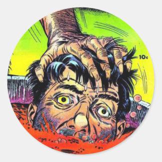 Mister Mystery Comics Sticker