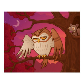 Mister Owley Poster