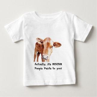 Mister Poopie Pants Cow Tee