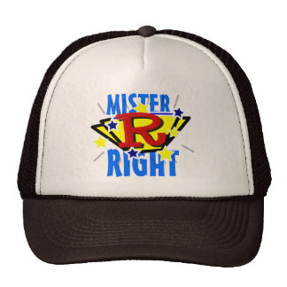 Mister Right Funny Hat