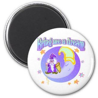 Mister Sandman 2 Inch Round Magnet