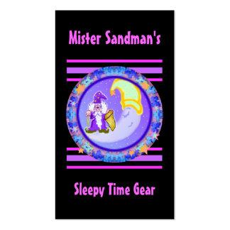 Mister Sandman Business Cards