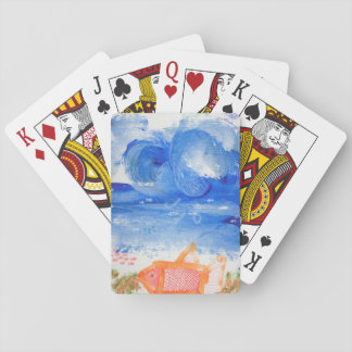 Mister Spaceship's Shark Disguised as a Goldfish Playing Cards