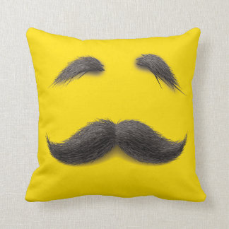 Mister Yellow Pillow Throw Pillows