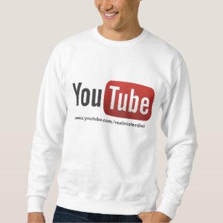 misterdini youtube channel pullover sweatshirt