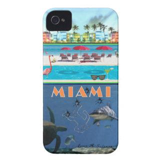 Misterio de Miami para Blackberry intrépido iPhone 4 Case-Mate Cobertura